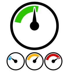 Pressure gauge dial template vector