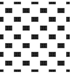 Soccer field pattern vector