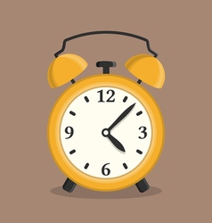 Yellow Alarm Clock vector