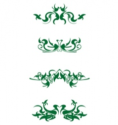 decorations vector image