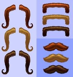 Mustaches-part 1 vector