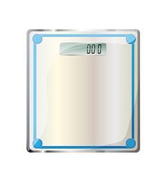 bathroom digital scale vector image