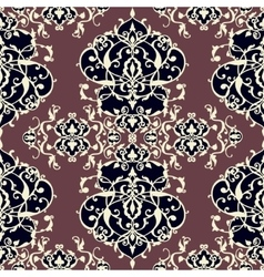 Abstract seamless pattern with geometric vector