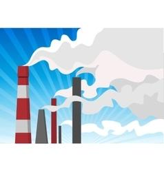 Air pollution vector