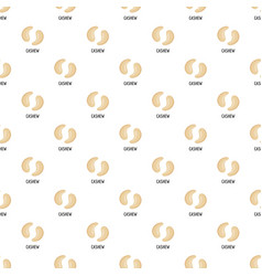 cashew pattern seamless vector image