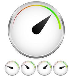 Dial template vector
