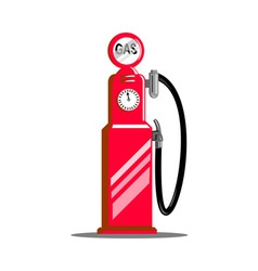 fuel gage meter vector image
