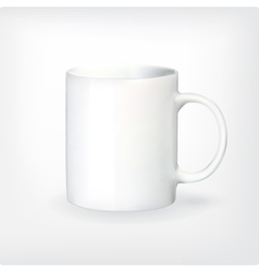 Realistic tea or coffee cup vector image vector image