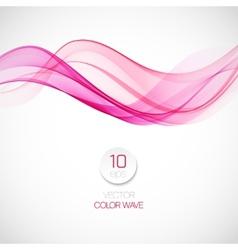 Smoke wave background vector image