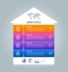 Timeline infographic business concept vector