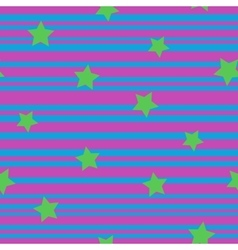 Line and star seamless pattern 5808 vector image vector image
