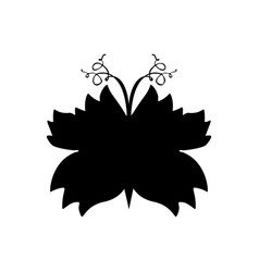 Butterflies silhouettes for laser cutting vector