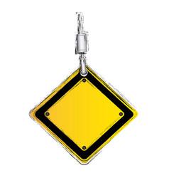 Crane hook holding tools blank warnings image vector