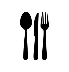cutlery icon image vector image