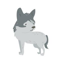 Forest animal cute cartoon vector