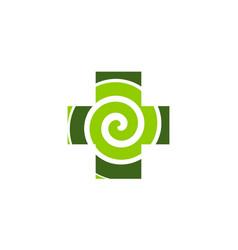 Hypnotherapy logo design template vector