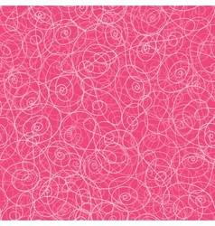 Pink swirl seamless pattern background vector