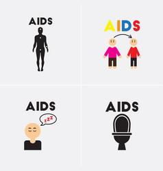 Symptoms of aids vector