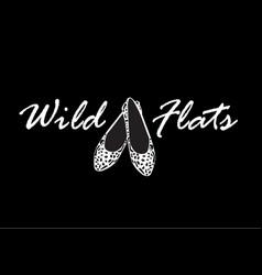 wild flats vector image