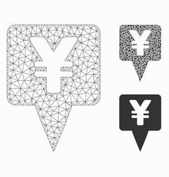 Yen map pointer mesh network model and vector