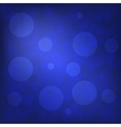 Christmas and New Year Holidays Blue Background vector image