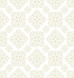 floral wallpaper beige tile vector image