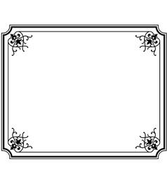 frame magasin 3 vector image