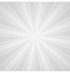 white gray color burst background vector image