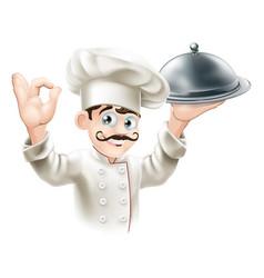 gourmet chef vector image