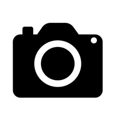icon pocket digital camera vector image