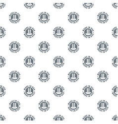 made in usa top hat pattern seamless vector image