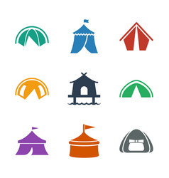 marquee icons vector image