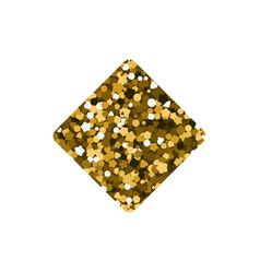playing card suit tiles diamonds vector image