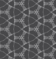 Repeating ornament dotted complex net vector