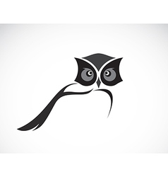 image of an owl design vector image vector image