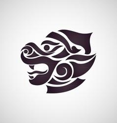 Monkey Thai Art vector image
