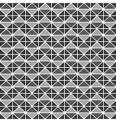 Triangluar retro pattern vector image