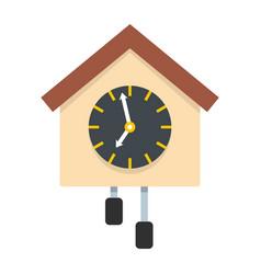 clock creative icon flat style vector image