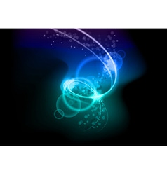 Lighting spiral vector