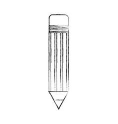 pencil school isolated icon vector image