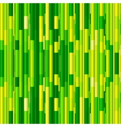 Vivid green bamboo abstract seamless pattern vector image