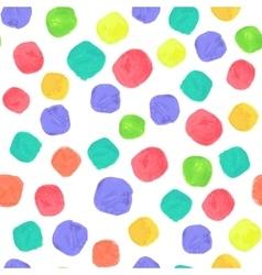 Watercolor Spectrum Seamless Pattern vector