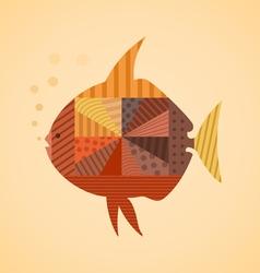 Abstract fish3 vector image