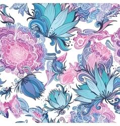 Elegant Romantic Floral Pattern vector image vector image