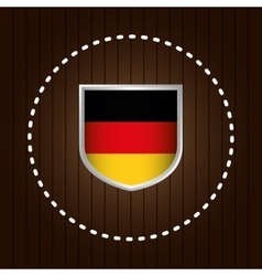 German country flag vector