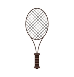 Isolated racket of tennis design vector image