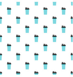 Protein cocktail pattern seamless vector
