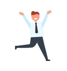 successful businessman icon vector image vector image