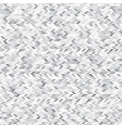 Triangles white and grey abstract background vector image