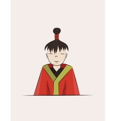 boy of Japan vector image vector image